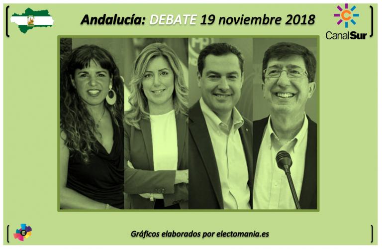 Canal Sur debate: sigue con nosotros el primer debate entre los candidatos a la Presidencia de la Junta de Andalucía.