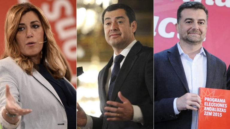 Comenta aquí el primer debate electoral en Andalucía