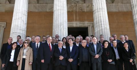 Grecia: El Ministro de Interior admite que están valorando convocar nuevas elecciones.