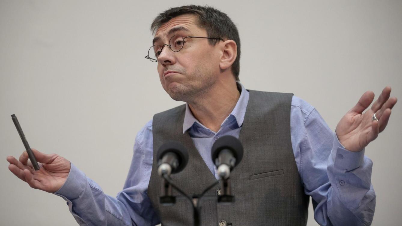 """Monedero ve al PP acercarse a Vox: """"El discurso de Abascal ha terminado arrastrando a Ayuso"""""""
