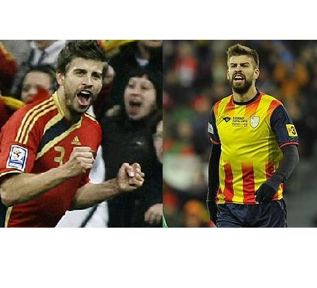 Política en el deporte: ¿debe Piqué dejar de jugar en la selección española?