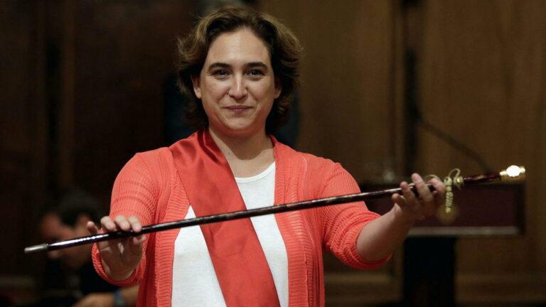 Sondeos internos para Cataluña: Colau podría ganar las elecciones si fuera candidata a la Generalitat.