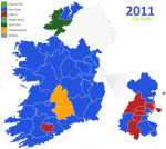 Irlanda map
