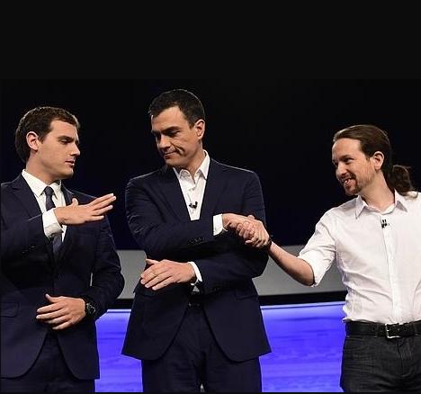 #5 de febrero. Iglesias exige a Sánchez que elija entre él o Rivera