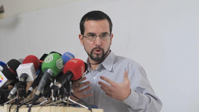 Sergio Pascual cesado como Secretario de Organización de Podemos.