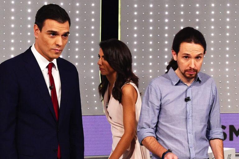 Filtrados los detalles de la negociación rota PSOE-UP. IU se plantea romper la disciplina de voto