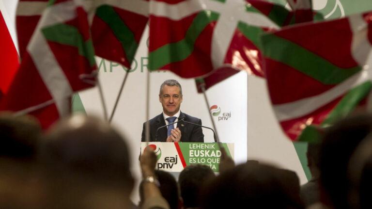 Gizaker para País Vasco: PNV repetiría resultados a pesar de la irrupción de Podemos, que es segunda fuerza.