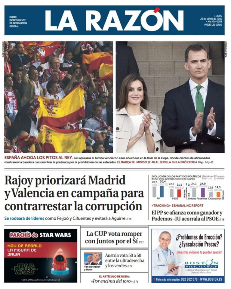 NC REPORT: el PP se afianza como ganador y Podemos-IU acorrala al PSOE.