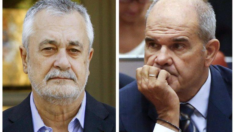 Sentencia de los EREs: Cháves condenado a 9 años de inhabilitación por prevariación, Griñán a seis años de cárcel por malversación.