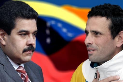 Venezuela: una sociedad dividida. Las dos caras de Maduro y Capriles.