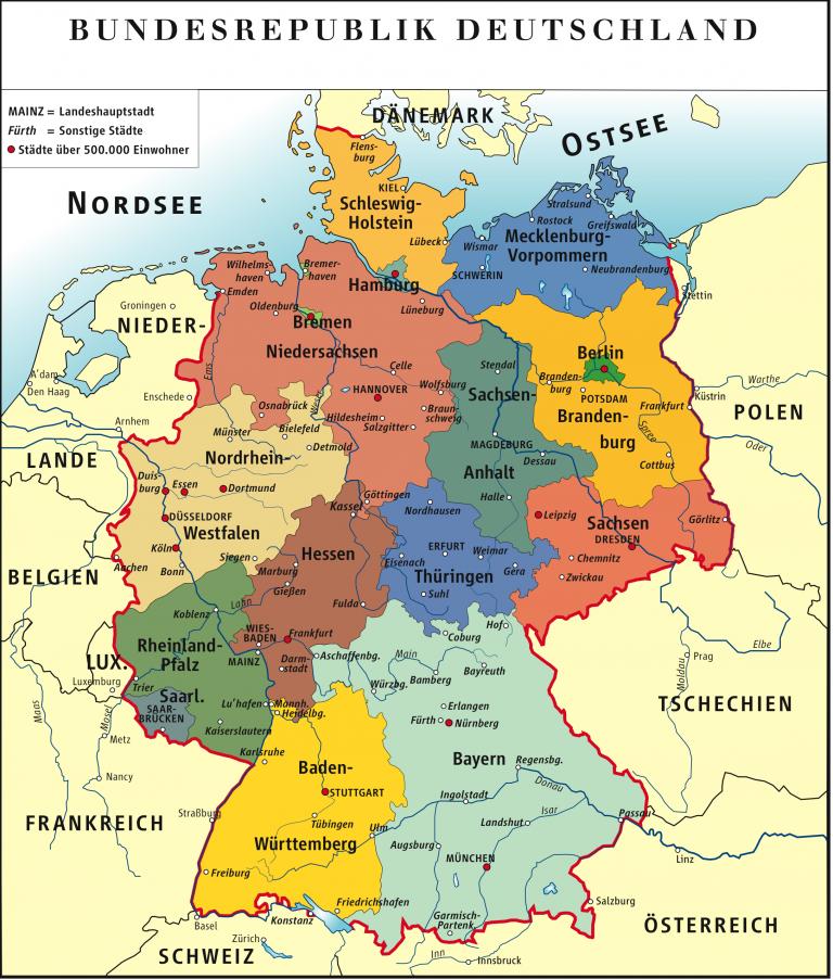 Alemania busca coalición que la gobierne
