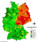 Percentage of Children aged 0-4 in Germany