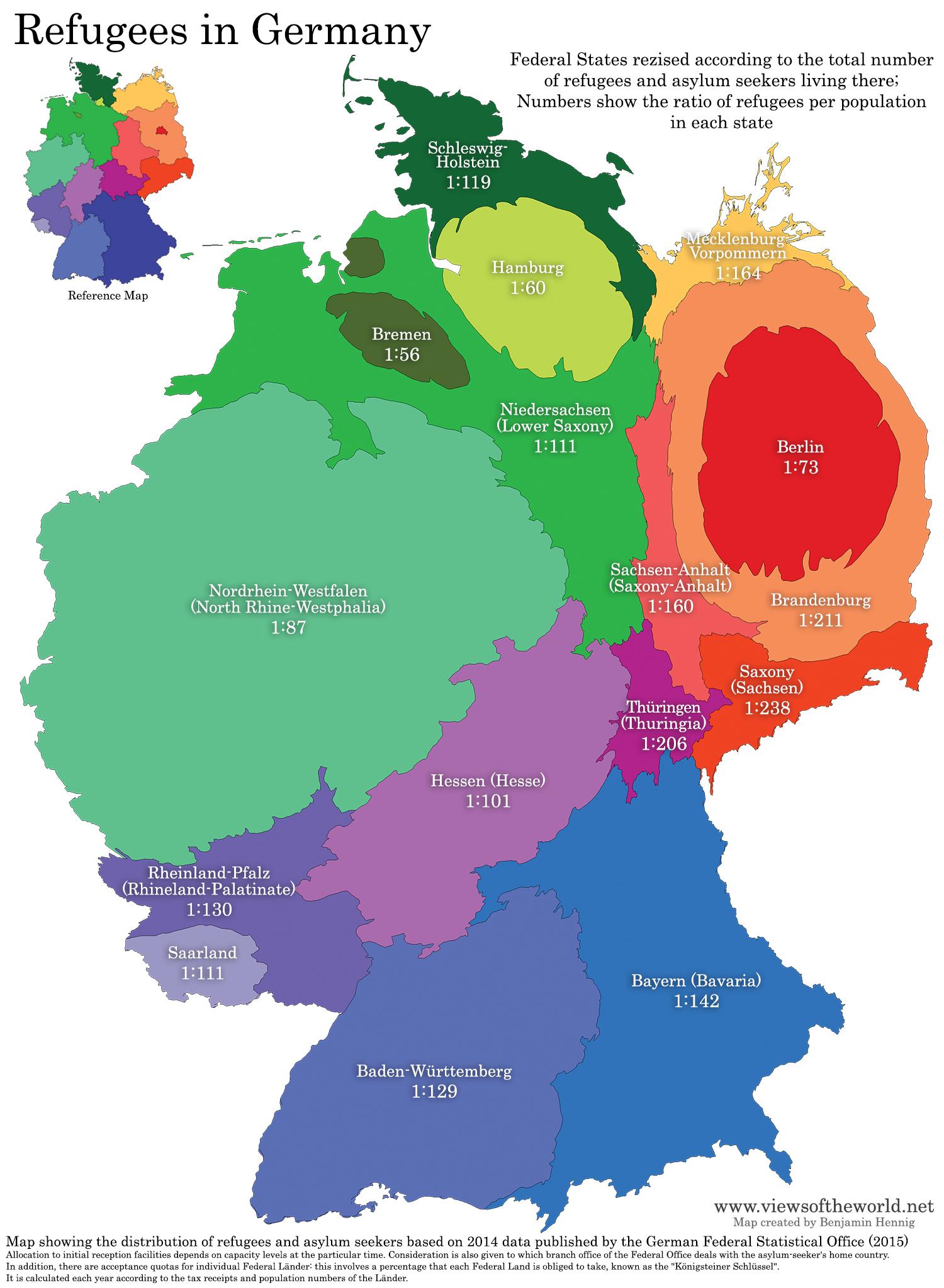 Deutschland Coronavirus Karte