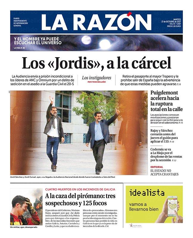 [Especial] Portadas de Prensa 17Oct (Gracias @jpbellido!)