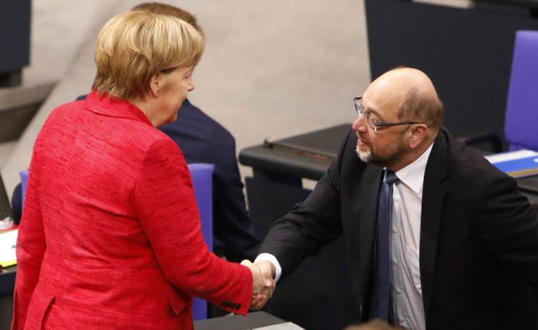 Acuerdo de gobierno CDU/SPD en Alemania
