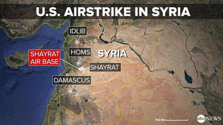 EEUU,Francia y UK lanzan ataque coordinado contra Siria.