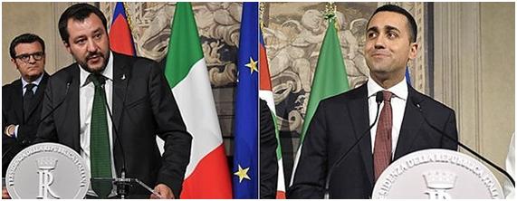 Giusseppe Conte, candidato a Primer Ministro en Italia.