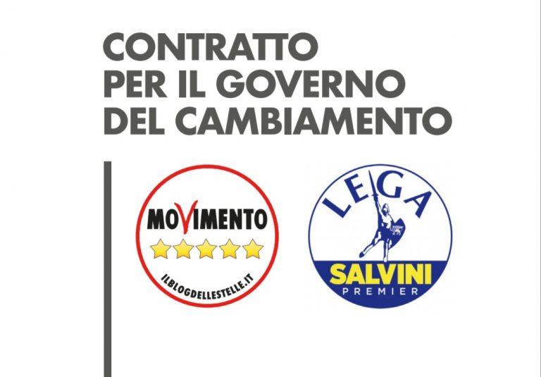 Programa de Gobierno en Italia: renta básica universal y vuelta a la Europa pre Maastricht.
