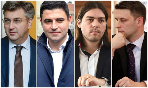 """Despunte en las encuestas de Živi Zid, el """"hermano menor"""" del M5S en Croacia."""