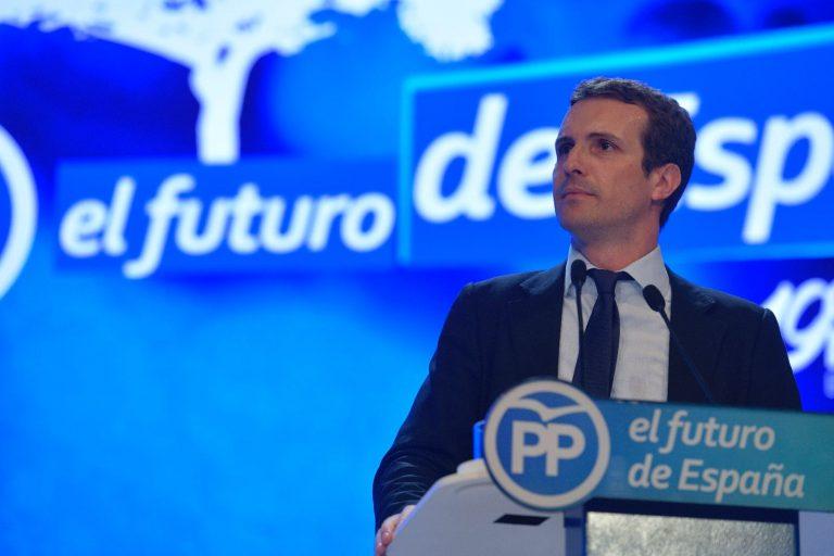 Primarias PP: Casado arrasa a Soraya y se convierte en líder del PP.