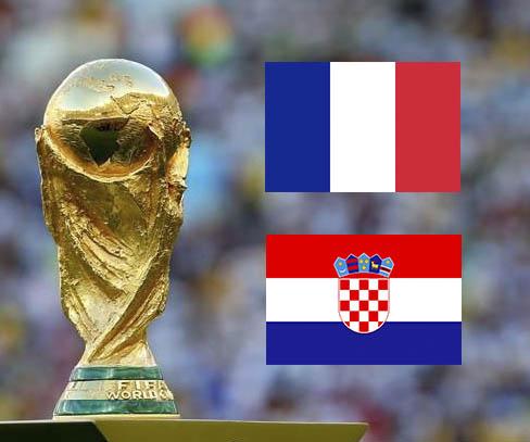 Francia-Croacia: una nación laica de izquierdas que vira al centro frente a una incipiente nación democristiana.