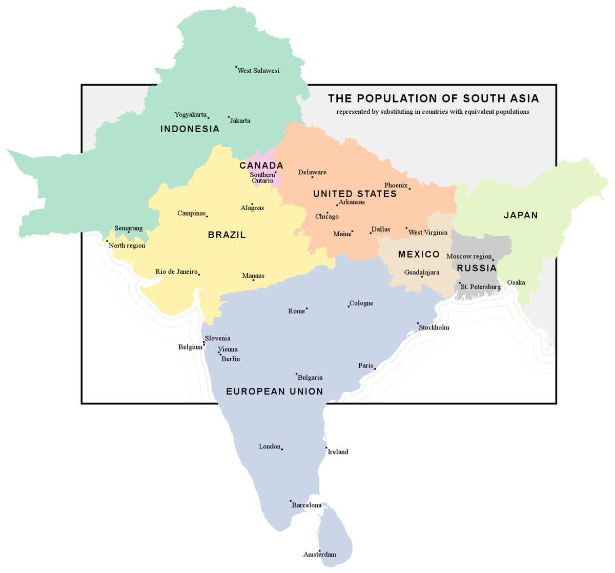Mapa De La India En El Mundo.La India No Es Un Continente Es Mucho Mas Que Eso Electomania