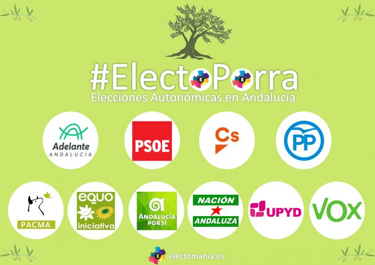 #ElectoPorra elecciones andaluzas: afina tu pronóstico y podrás llevarte un iphone Xs.