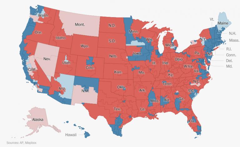 Trump pierde la Cámara de Representantes pero conserva la mayoría en el Senado