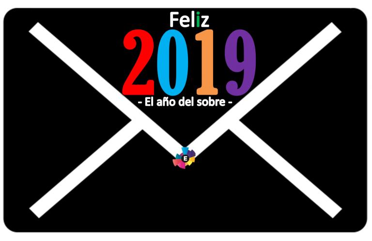 Feliz 2019, el año del sobre