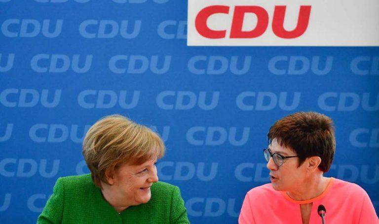 Último día de Merkel al frente de la CDU. La sucede Annegret Kramp-Karrenbauer