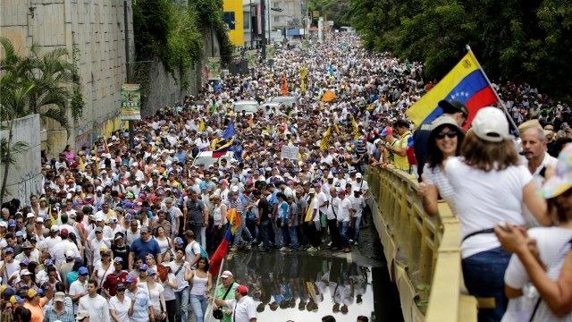 Continúa la tensión en Venezuela