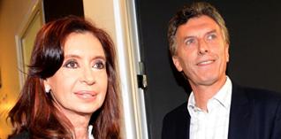 Argentina: ajustado duelo entre Cristina Kirchner y Mauricio Macri