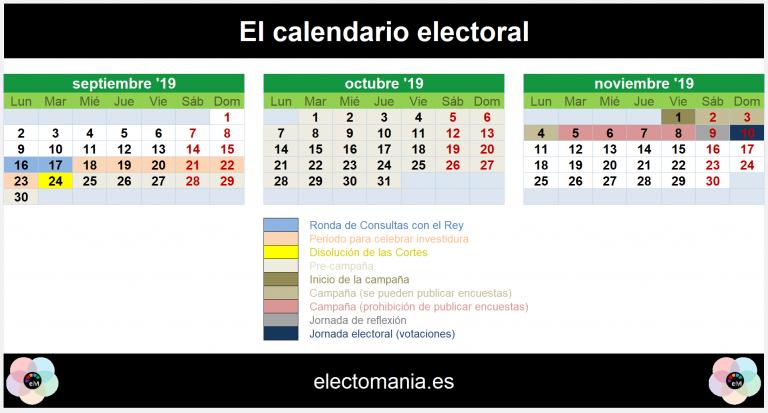 La semana decisiva. Así sería el nuevo calendario electoral