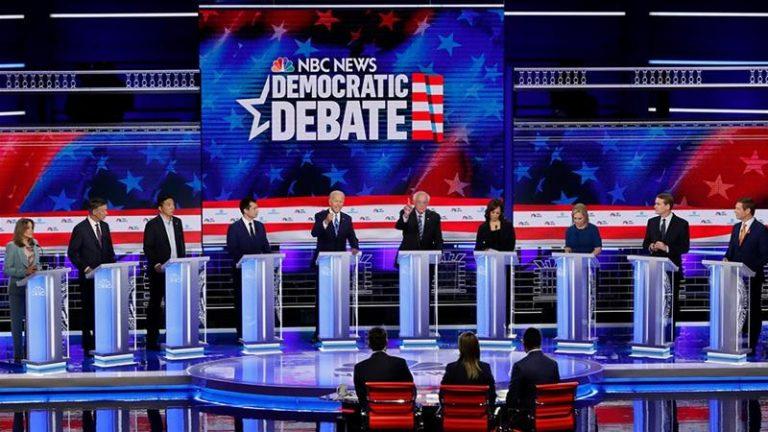 USA (Dems): así transcurrió el debate demócrata