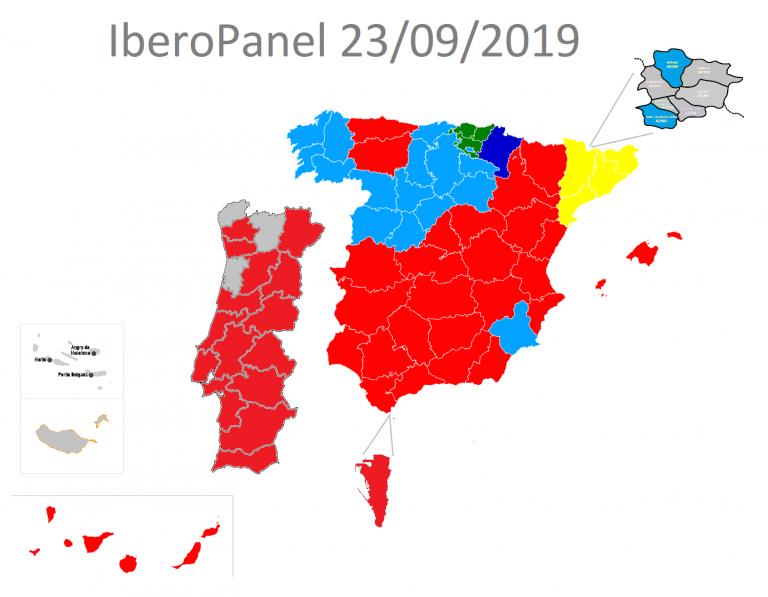 IberoPanel: así quedaría un Parlamento Ibérico unificado entre España, Portugal, Andorra y Gibraltar