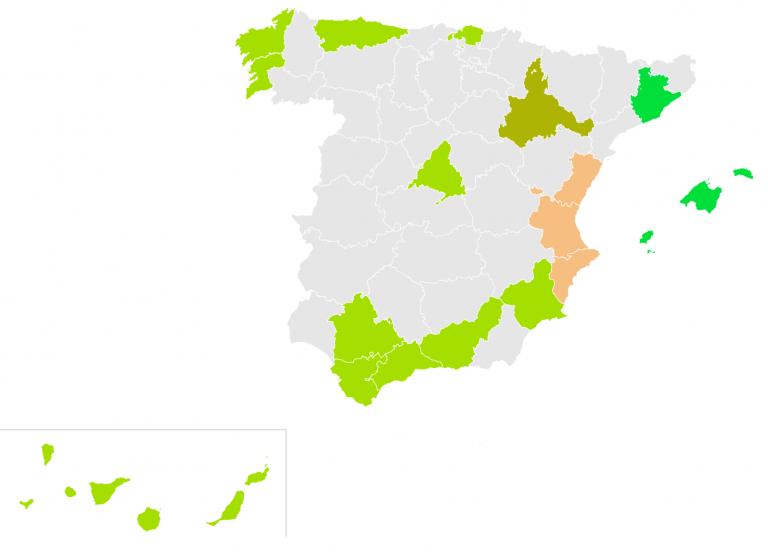 Más País se presentaría en una veintena de provincias: en 16 de ellas en coalición