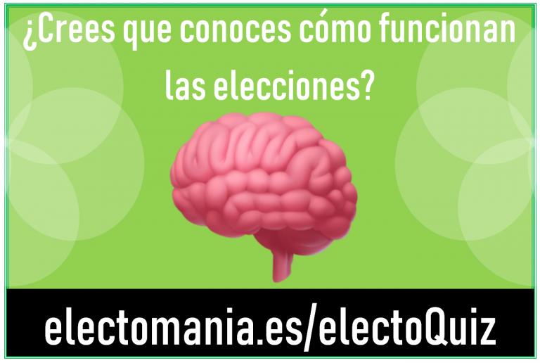 ElectoQuiz: te retamos a mostrar tu conocimiento sobre la relación votos/escaños este 10N