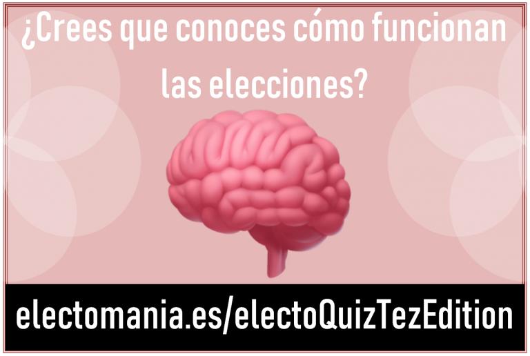ElectoQuiz (Tezanos Edition): pon a prueba tus neuronas demoscópicas