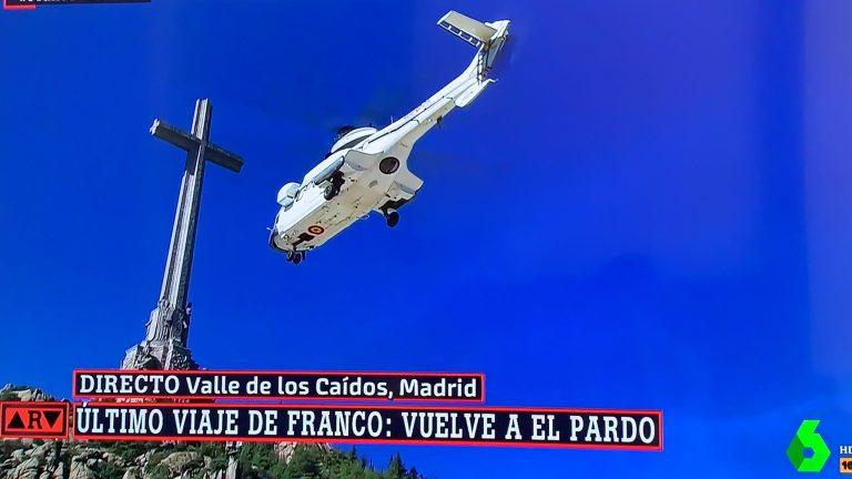 Franco, exhumado del Valle de los caídos tras 44 años