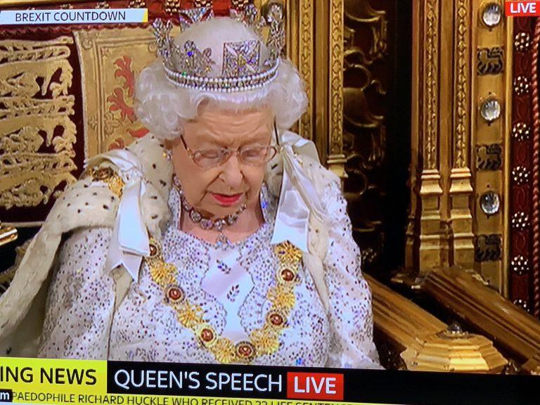 UK: el discurso de la Reina abre el nuevo ciclo político en la semana decisiva para el Brexit