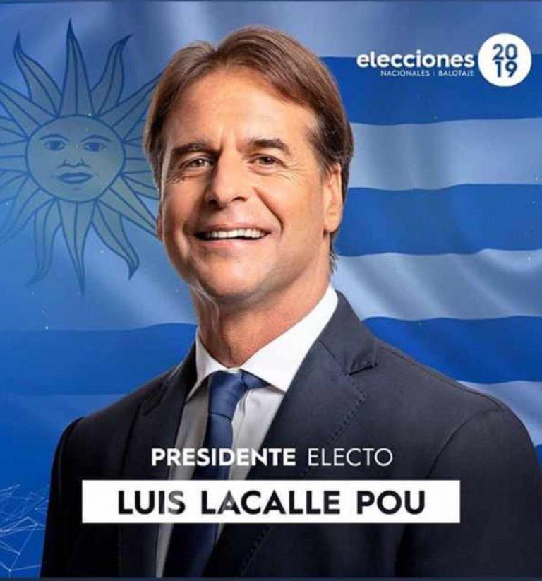 Luis Lacalle, confirmado oficialmente como presidente de Uruguay