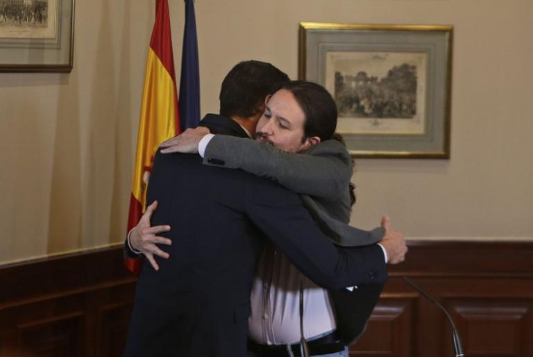Investidura: a las 17:00 se hará público el contenido del acuerdo de Gobierno entre PSOE y UP