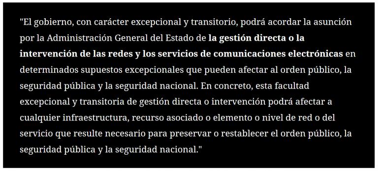 Aprobada la 'Ley Mordaza Digital' con los votos a favor de PSOE, PP y Ciudadanos