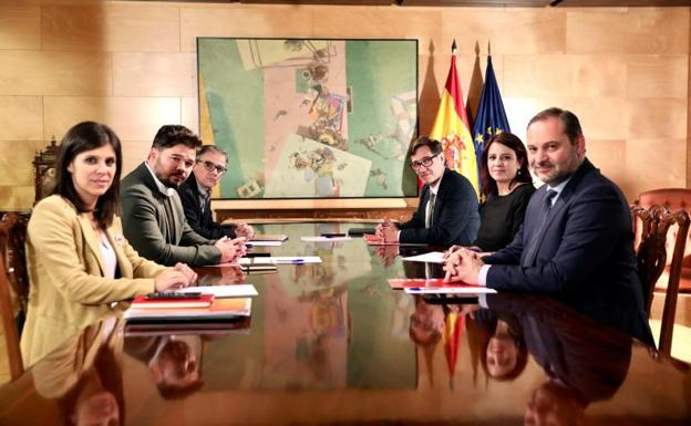 ERC conoce ya el escrito de la abogacía del Estado y da el visto bueno a la investidura, que se llevaría a cabo antes de Reyes