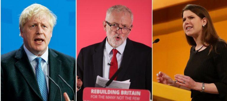 YouGov (10Dic): Jo Swinson y Boris Johnson no tienen apuntalado su escaño en el Parlamento. Corbyn arrasa en su distrito con más del 60%