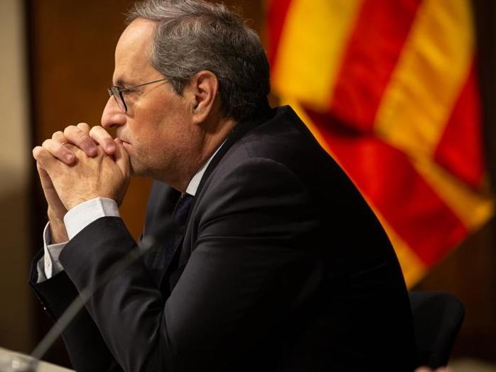 Torra convocará inmediatamente  elecciones en Cataluña, una vez aprobado el Presupuesto. Horizonte electoral: entre abril y junio