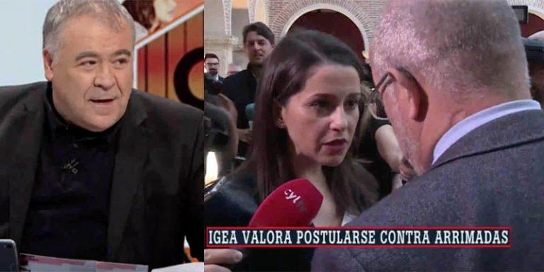 Crisis interna en Ciudadanos: tenso encuentro entre Arrimadas e Igea ante las cámaras