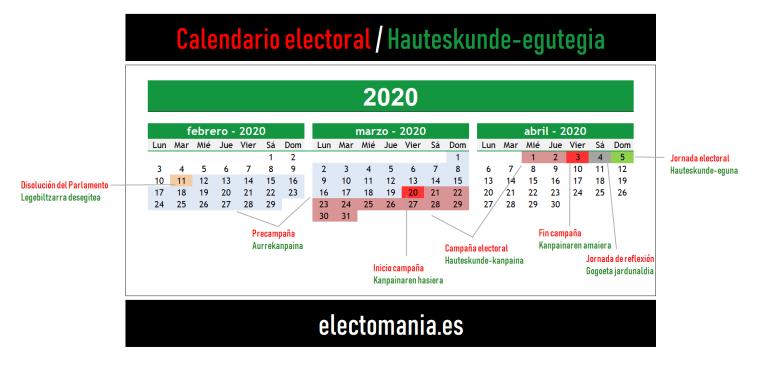 Es oficial: Urkullu convoca elecciones autonómicas para el próximo 5 de abril