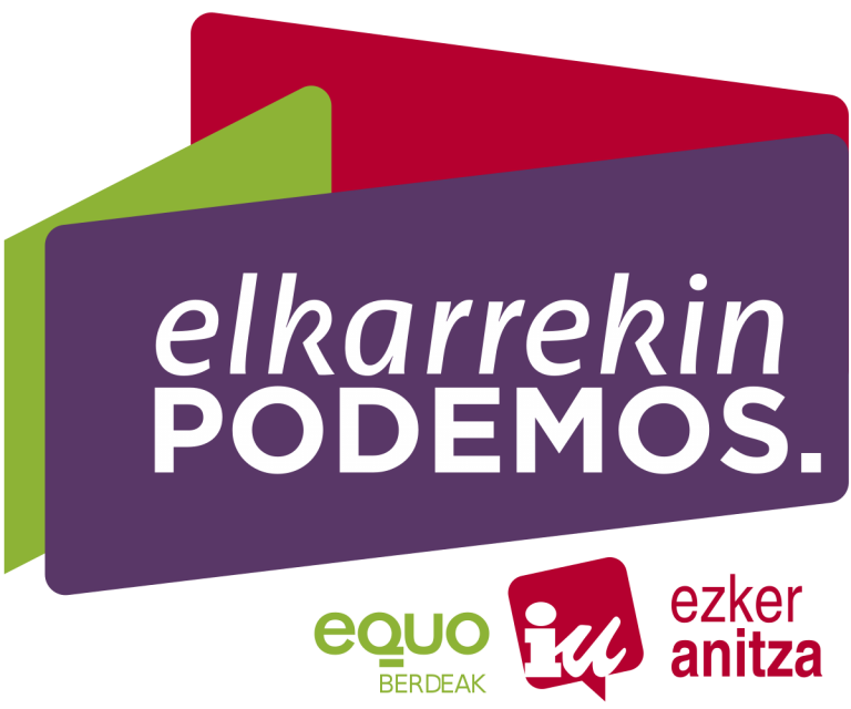 Ruptura en Elkarrekin Podemos: la dirección de Podemos no admite a Equo Berdeak en la coalición