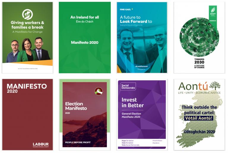 Irlanda: el Sinn Féin roza la victoria en últimos sondeos. Consulta los manifiestos de los partidos